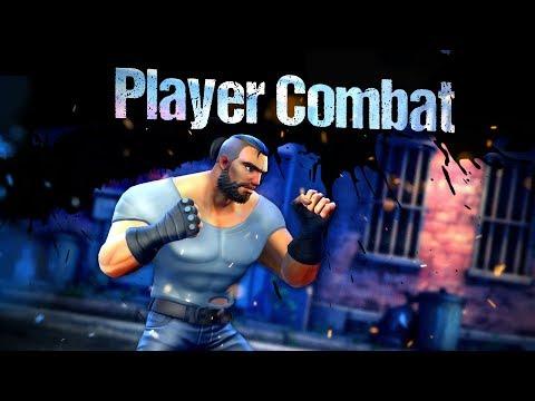Beat 'Em Up Template 3D - Player Combat setup