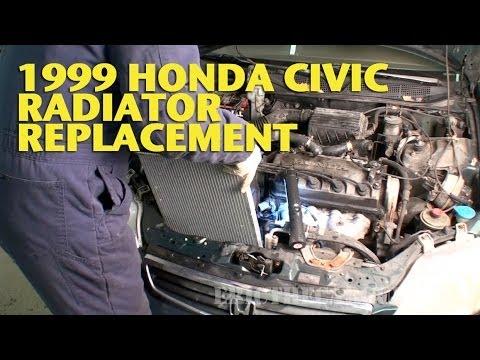 1999 Civic Radiator Replacement -EricTheCarGuy