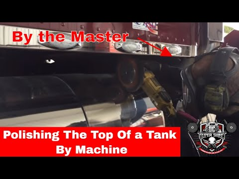 How to polish the top of an aluminum fuel tank #2