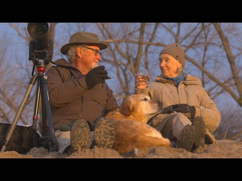 Jane and Tom take in wildlife and whiskey