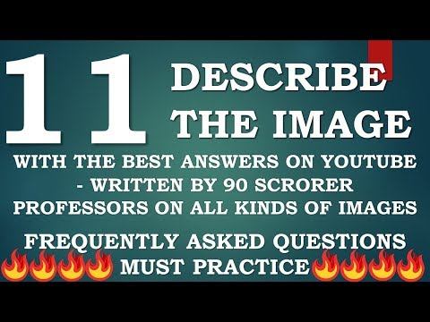 Describe the Image PTE with answers - XTRAS