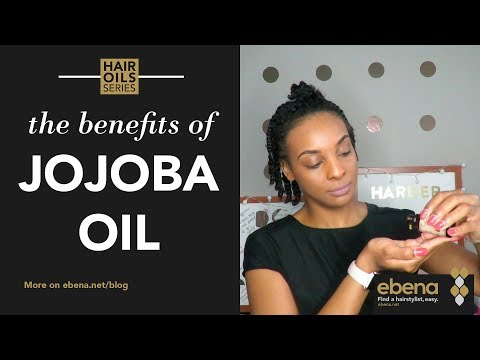 How to moisturize and seal with jojoba oil while protective styling