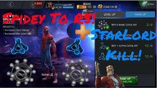 Stark Enhanced Spider-Man vs Ex Magik, 2 Revives - Labyrinth