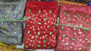 Diwali special collection fancy fabric wholesale surat/wholesale kapda market surat/online fabrics.