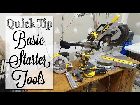 Must Have Power Tools | Quick Tip Tuesday