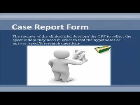 Case Report Form in Clinical Research