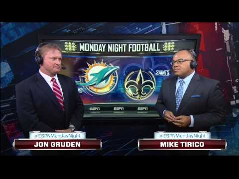 Jon Gruden - the strangest sports broadcast moment ever