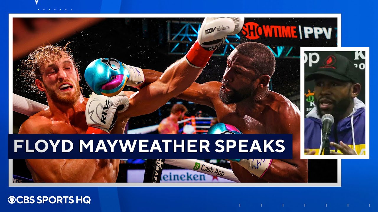 Floyd Mayweather: 'His goal was to survive' [Mayweather vs Paul Press Conference ]  CBS Sports HQ