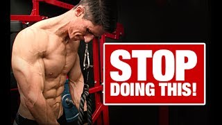 Stop Doing Tricep Pushdowns Like This!