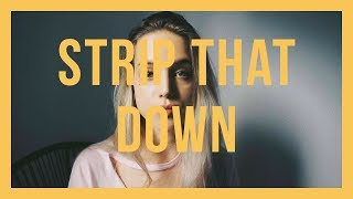 Strip That Down / Liam Payne / Felicia Lu Cover