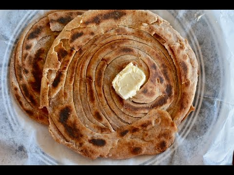 How To Make Lachha Paratha | Whole Wheat | Malabari Parantha/Multilayered Parantha | Step By Step
