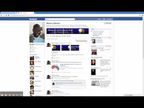 How To Put A Banner On Your Facebook Profile Page
