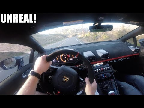THIS is what its like to drive the FASTEST Lamborghini ever made! (Huracan Performante POV)