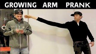 Growing Arm Magic Prank -Julien Magic