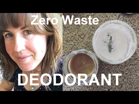 Zero Waste, DIY Natural Deodorant | Bicarb Soda Free Options Included