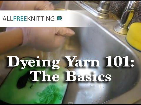 Dyeing Yarn 101: The Basics
