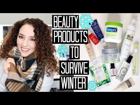Best Beauty Products for Dry Winter Hair & Skin