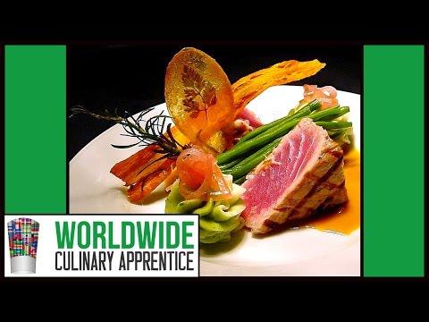 Food Plating - Food Decoration - Plating Garnishes - Food Arts - Food Presentation. Sea Food