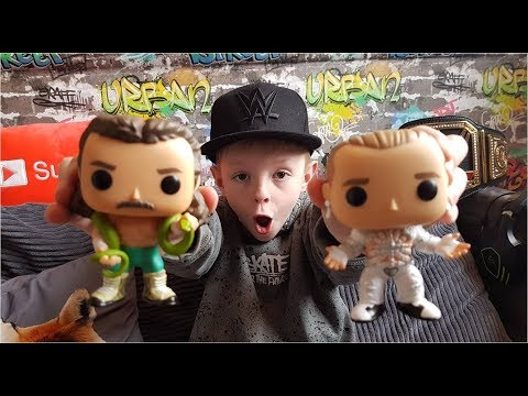 SHAWN MICHAELS (WRESTLEMANIA) & JAKE THE SNAKE ROBERTS WWE FUNKO POP VINYL FIGURES UNBOXING