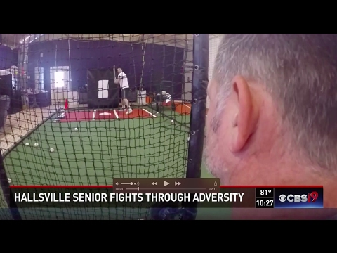 Hallsville senior fights back for chance to play for USA Baseball