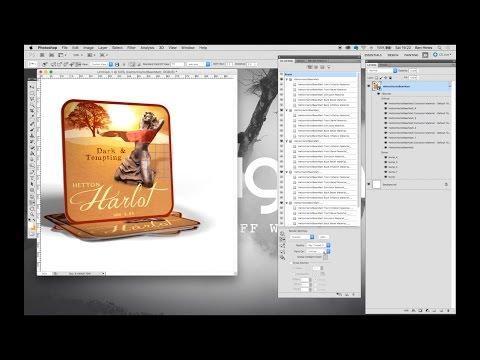 Photoshop 3D realistic rendering tutorial CS5