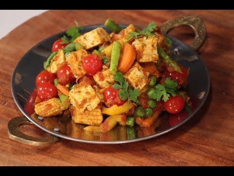 Desi Paneer Stir Fry | Cooking Classy with Afraz | Sanjeev Kapoor Khazana