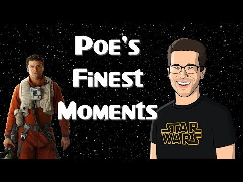 3 of Poe's Finest Moments in The Last Jedi