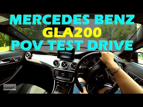 (2018) Malaysia Mercedes Benz GLA200 POV Test Drive #mercedesbenzgla #gla200