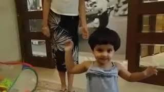 Gracia Raina playing with mom Priyanka Raina