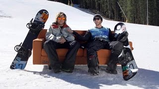 How To Skate on a Snowboard with Kevin Pearce and Jack Mitrani | TransWorld SNOWboarding