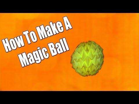 How To Make a Magic Ball !!!