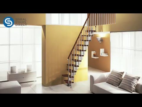 Mini Plus space saver staircase kit features video