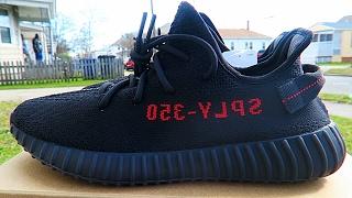 wholesale dealer 2a7c4 858e3 YEEZY 350 BOOST V2 BLACK RED LEGIT CHECK