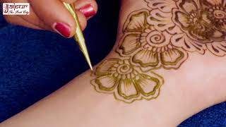 Mehndi Design For Hands   New Floral Mehndi Design By Sonia Goyal #256