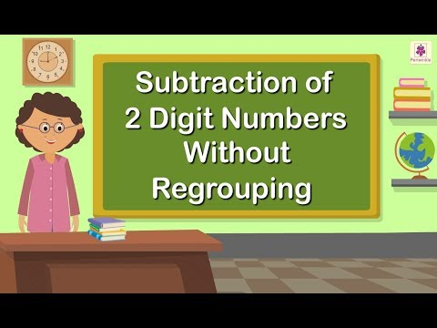 Subtraction of 2 Digit Numbers Without Regrouping | Grade 1 Maths For Kids | Periwinkle