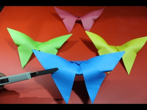 Make Paper Butterfly Decorations    DIY Paper Butterfly [Very EASY]
