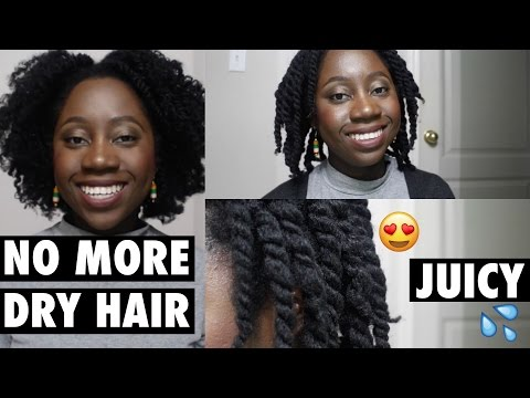 Moisturizing Technique for Extremely DRY Natural Hair | 4C Natural Hair