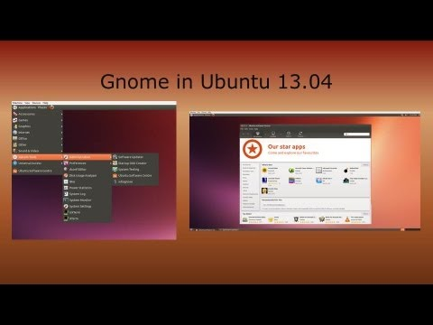 Gnome Desktop on Ubuntu 13.04 with Unity | How to | Unity to Gnome | Linux