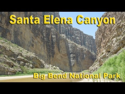 Big Bend National Park - Santa Elena Canyon Hike