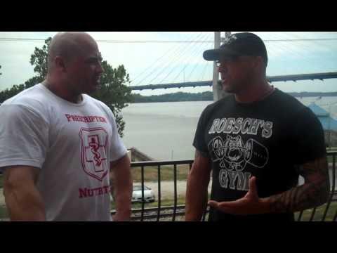 TC  Roesch owner of Roesch Gym talks to Chris250 about his goals, and Prescription Nutrition