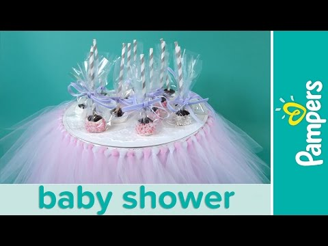 Princess Baby Shower Ideas: Chocolate Brownie Cake Pops | Pampers