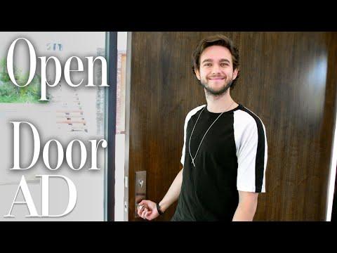 Inside Zedd's $16 Million Mansion That Has a Skittles Machine | Open Door | Architectural Digest