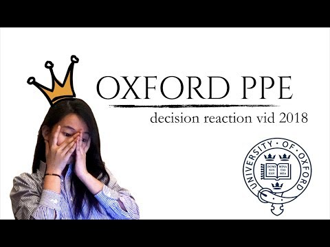 OXFORD PPE Decision Reaction 2018!!