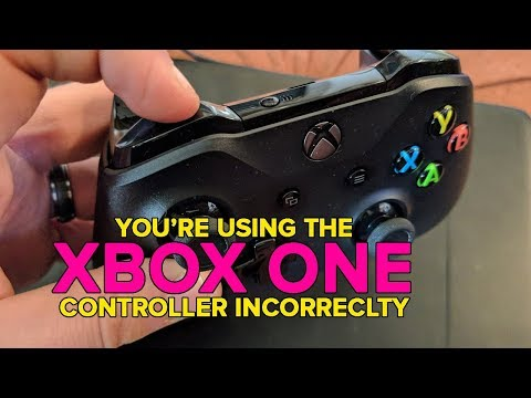 How to use the Xbox One controller's bumper buttons