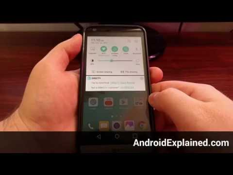 How to Remove the LG G5 DIRECTV Notification