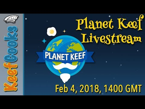 Announcing Livestream on Planet Keef