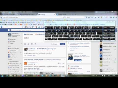 How to Use German Keyboard On Screen Windows 7