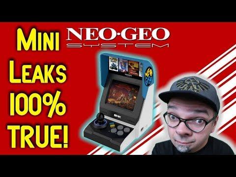 NOT A HOAX! Mini SNK Neo Geo Reveal Leaks ARE 100% TRUE!