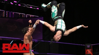 Mustafa Ali vs. Tony Nese: Raw, Jan. 30, 2017