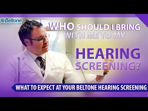 Who Should I Bring With Me To My Hearing Screening? | Dave Duggan - Hearing Care Practitioner